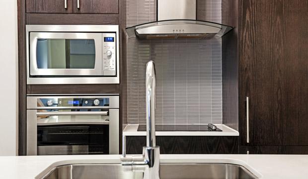 Limpar os eletrodomésticos de inox