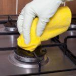 Limpar grades do fogão