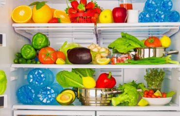 Alimentos na geladeira|