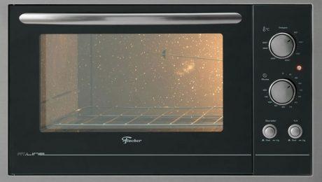 Limpeza do forno elétrico
