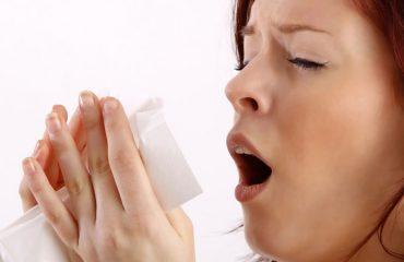 Pessoa alérgica